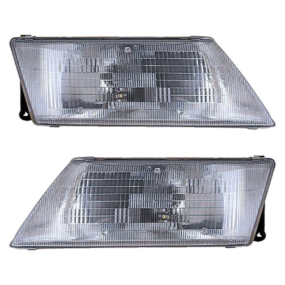 Nissan Sentra                         Headlight Assembly PairHeadlight Assembly Pair