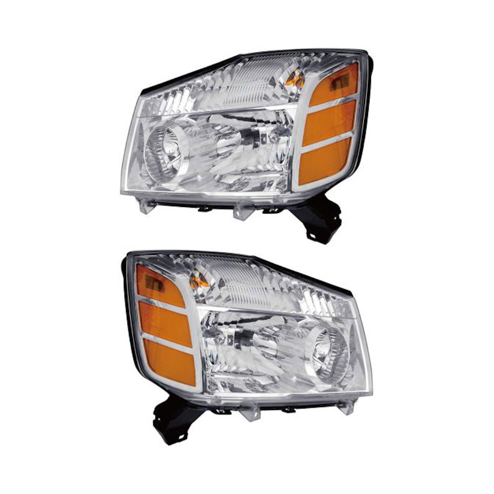 Nissan Titan                          Headlight Assembly PairHeadlight Assembly Pair