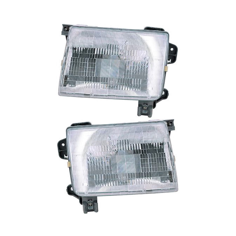 Nissan Frontier                       Headlight Assembly PairHeadlight Assembly Pair