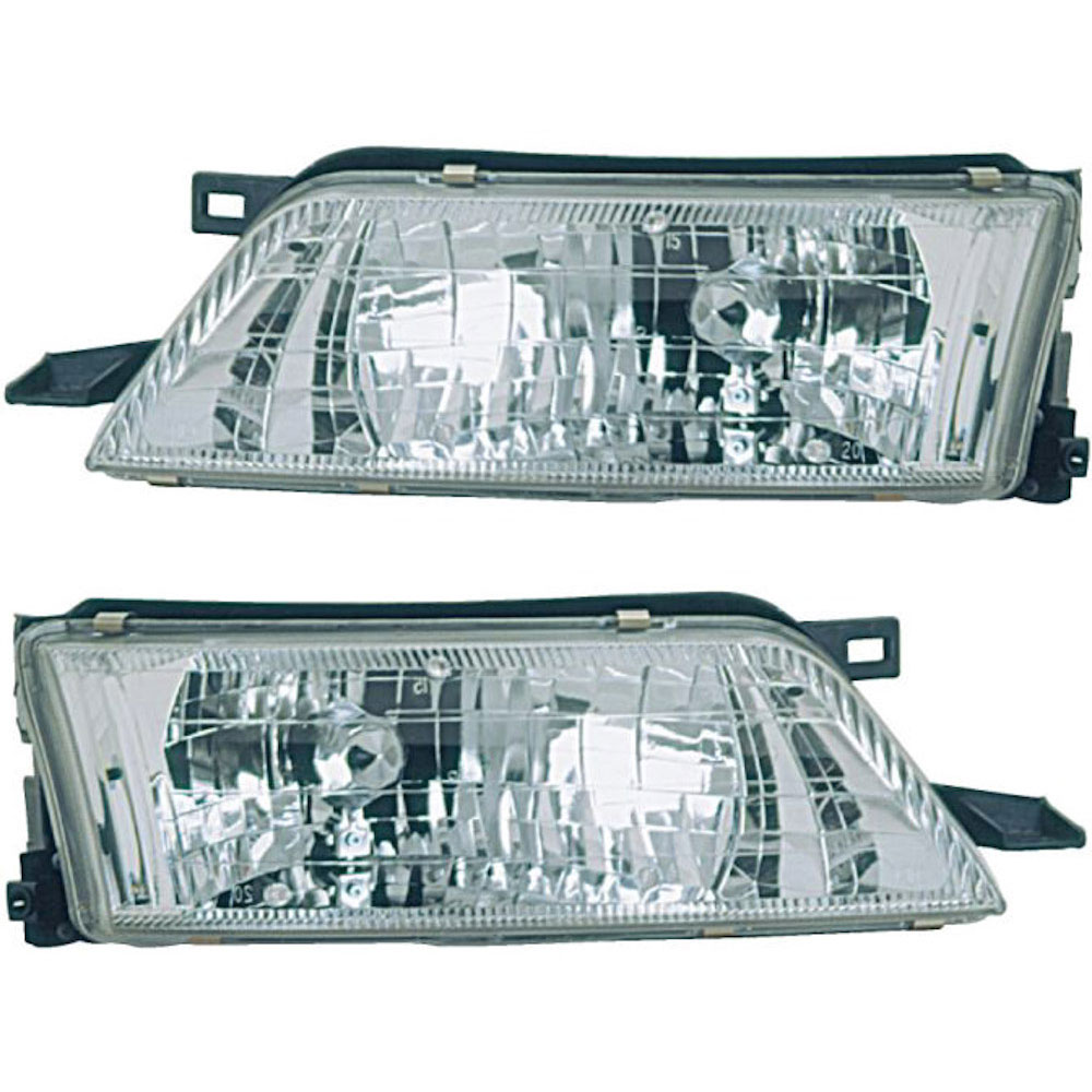 Nissan Maxima                         Headlight Assembly PairHeadlight Assembly Pair