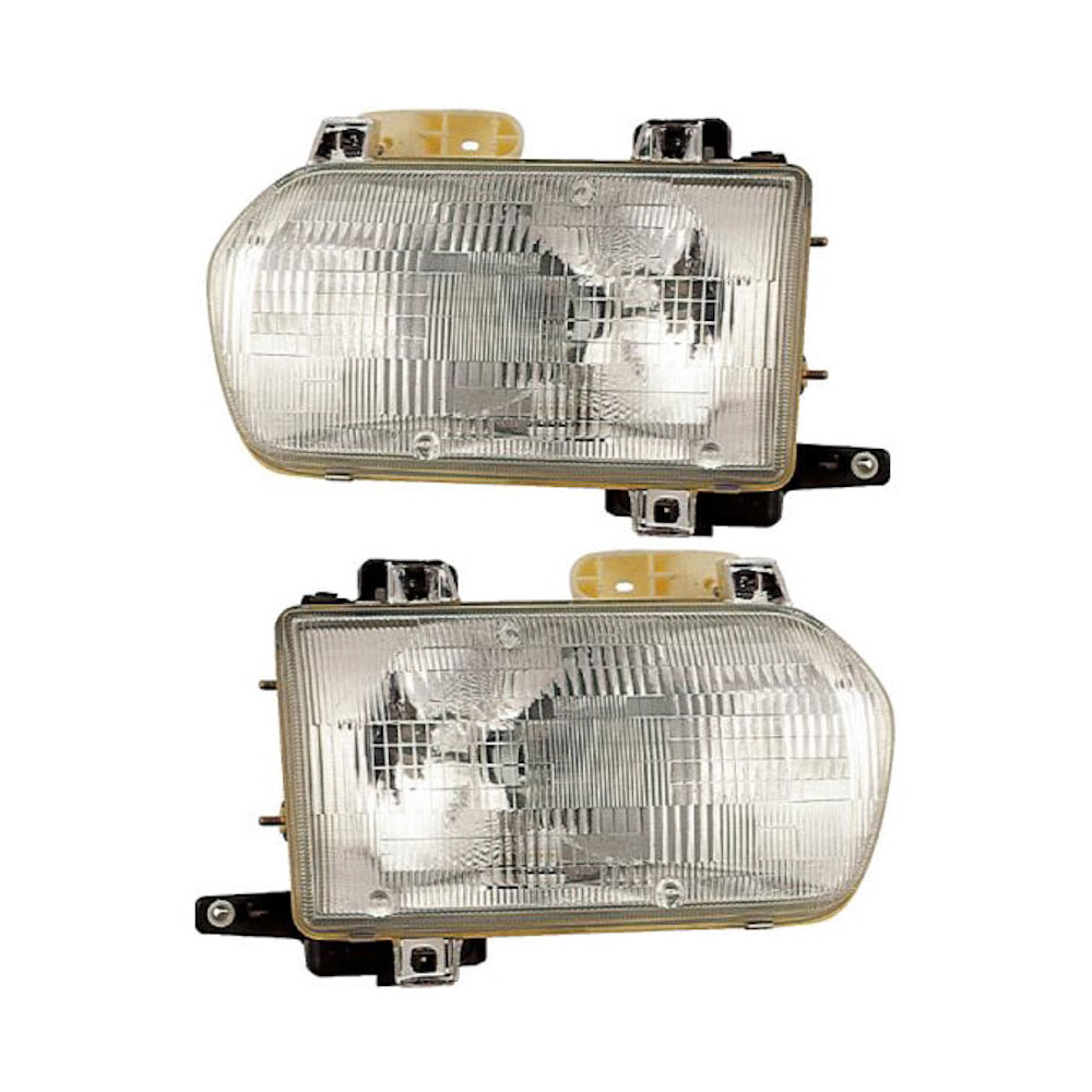 Nissan Pathfinder                     Headlight Assembly PairHeadlight Assembly Pair