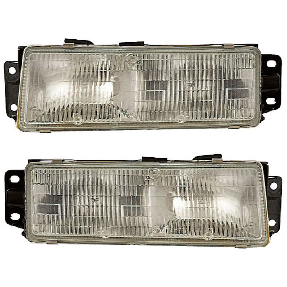 Oldsmobile Cutlass Ciera                  Headlight Assembly PairHeadlight Assembly Pair