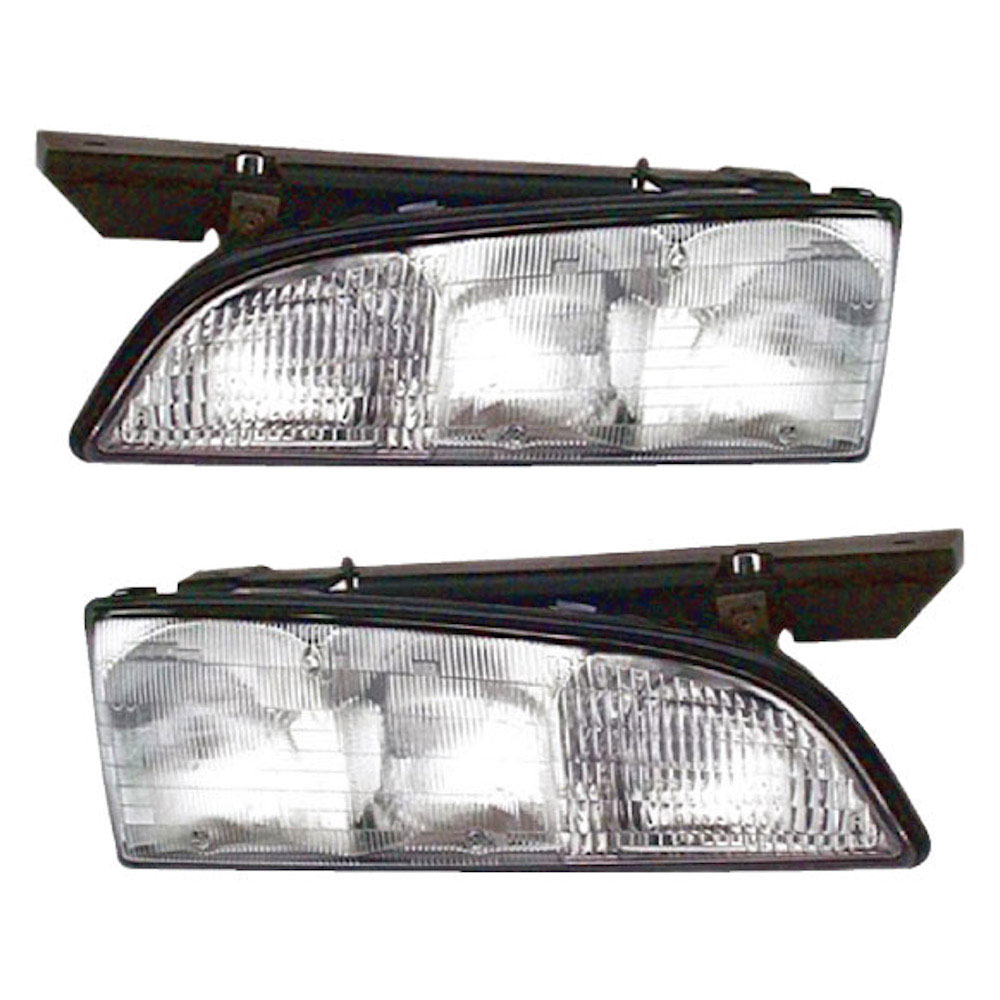 Pontiac Bonneville                     Headlight Assembly PairHeadlight Assembly Pair