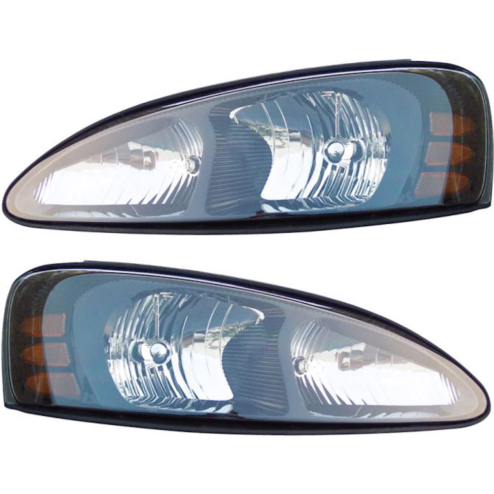 Pontiac Grand Prix                     Headlight Assembly PairHeadlight Assembly Pair