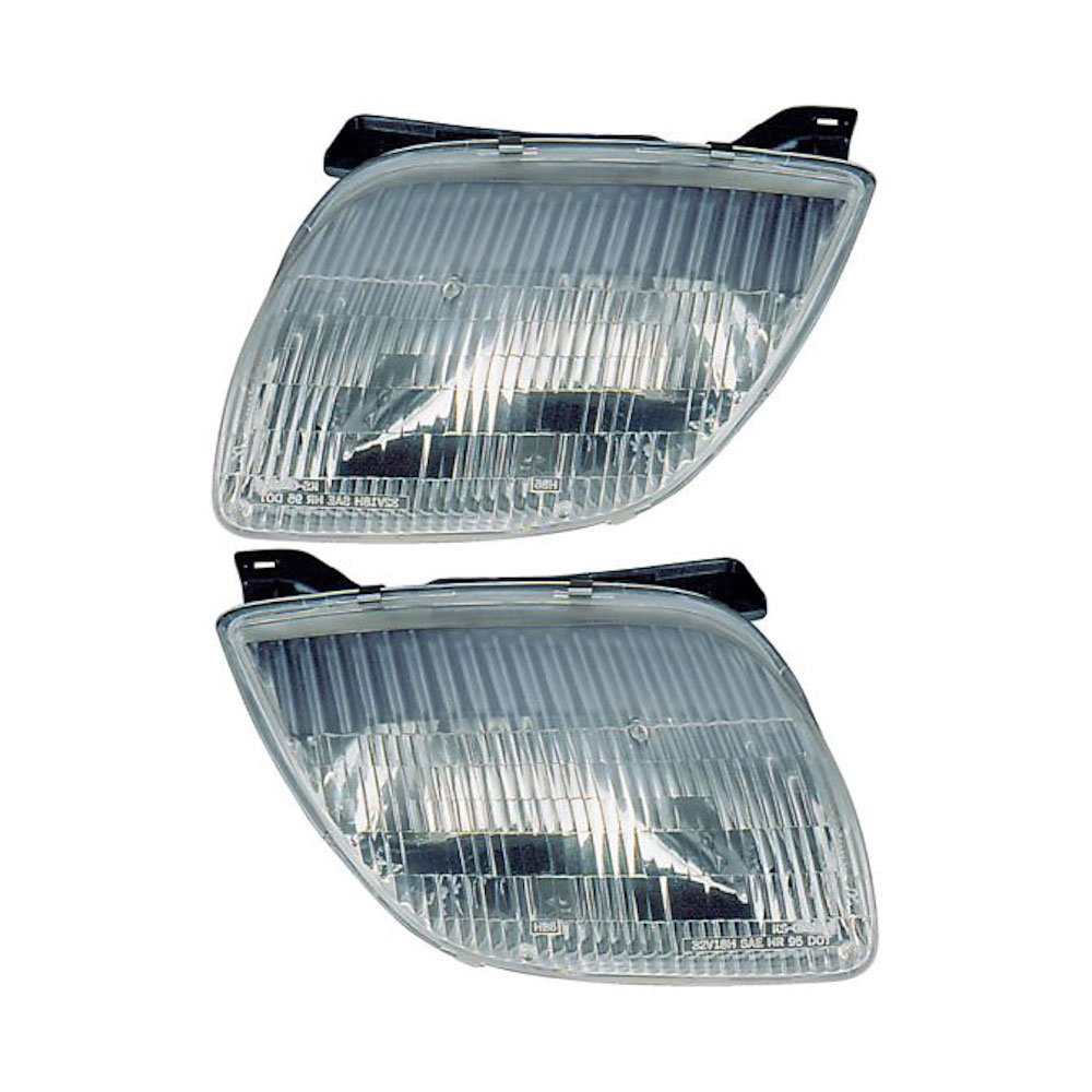 pontiac sunfire headlight assembly pair parts from car. Black Bedroom Furniture Sets. Home Design Ideas