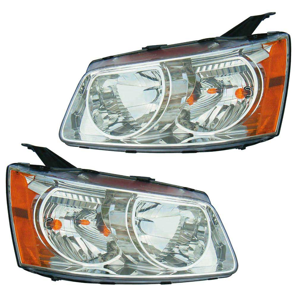 Pontiac Torrent                        Headlight Assembly PairHeadlight Assembly Pair