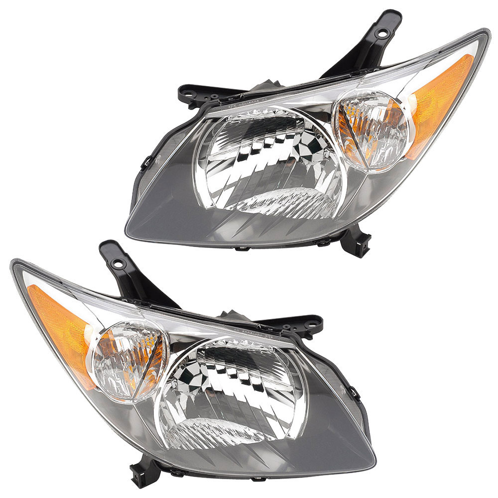 Pontiac Vibe                           Headlight Assembly PairHeadlight Assembly Pair