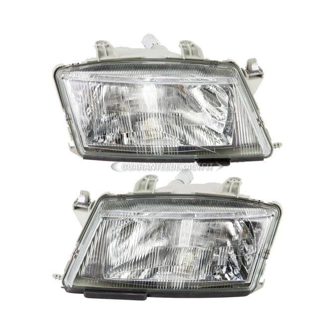 Saab 9-3                            Headlight Assembly PairHeadlight Assembly Pair