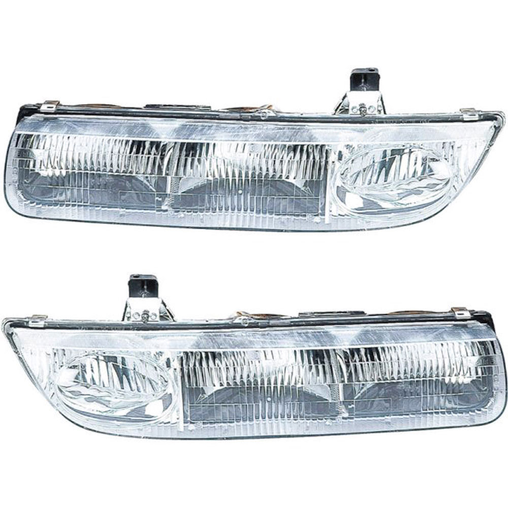 Saturn S Series                       Headlight Assembly PairHeadlight Assembly Pair