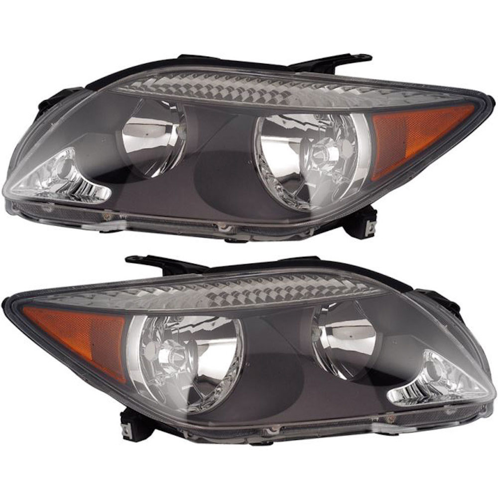 Scion tC                             Headlight Assembly PairHeadlight Assembly Pair