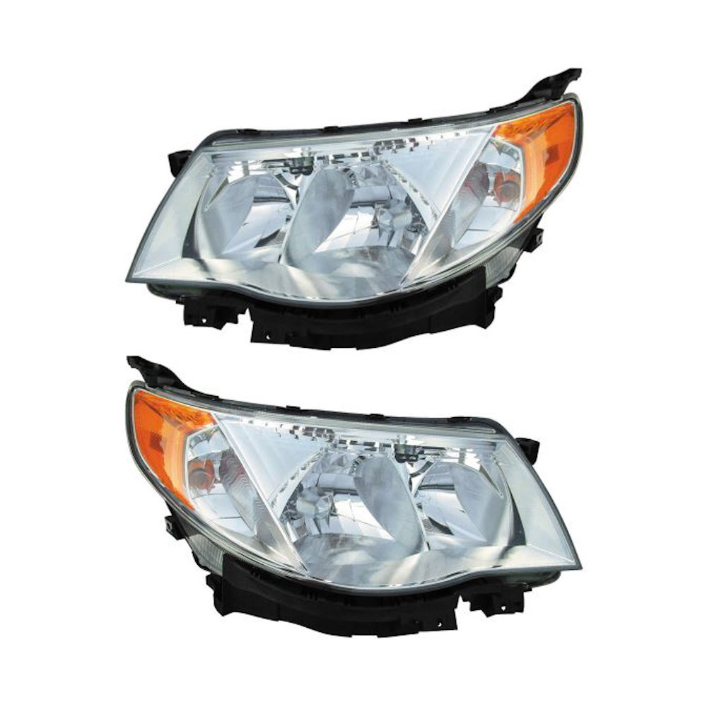 Subaru Forester                       Headlight Assembly PairHeadlight Assembly Pair