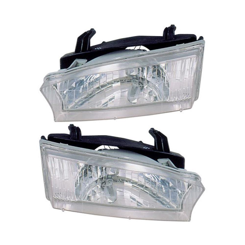 Subaru Outback                        Headlight Assembly PairHeadlight Assembly Pair