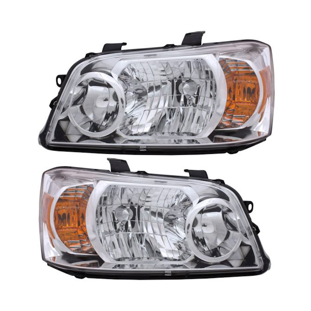 Toyota Highlander                     Headlight Assembly PairHeadlight Assembly Pair