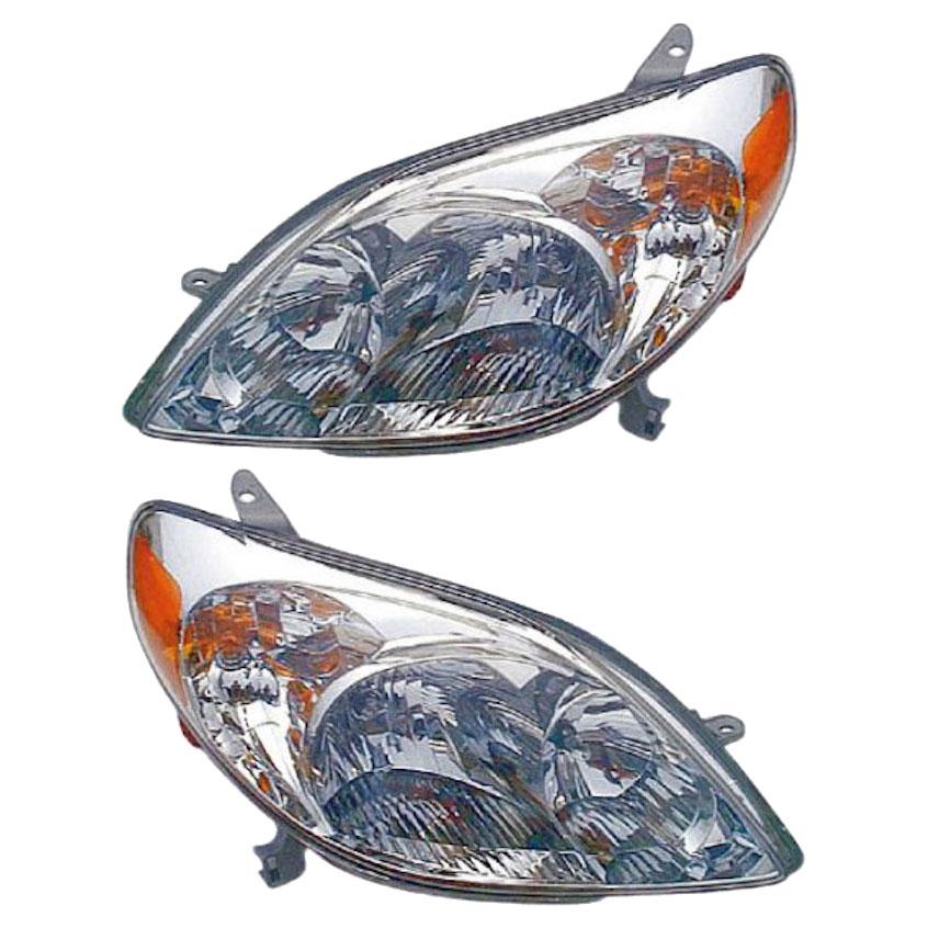 Toyota Matrix                         Headlight Assembly PairHeadlight Assembly Pair