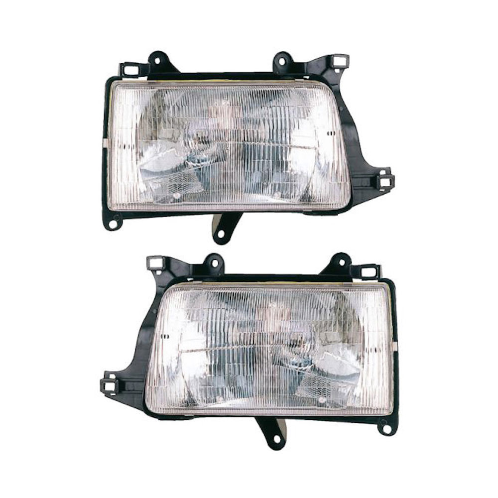 Toyota T100                           Headlight Assembly PairHeadlight Assembly Pair