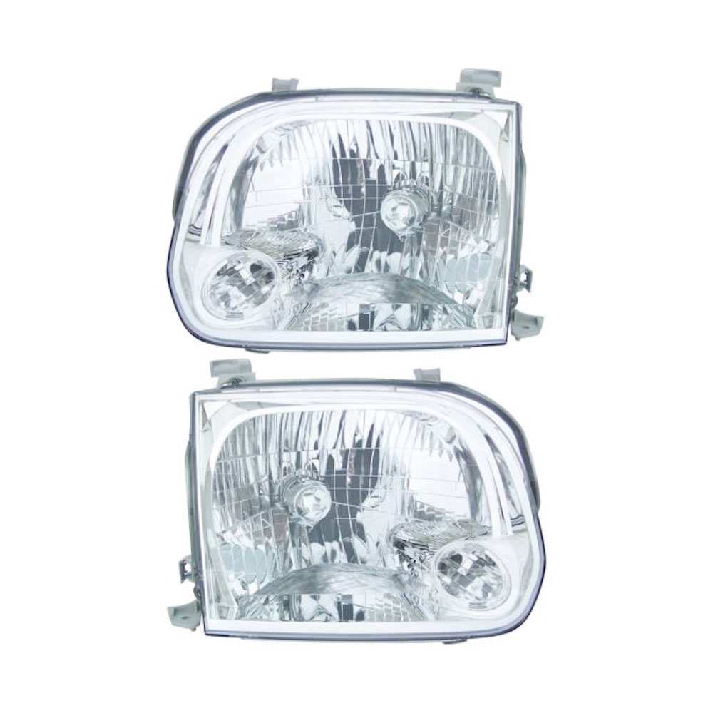 Toyota Tundra                         Headlight Assembly PairHeadlight Assembly Pair