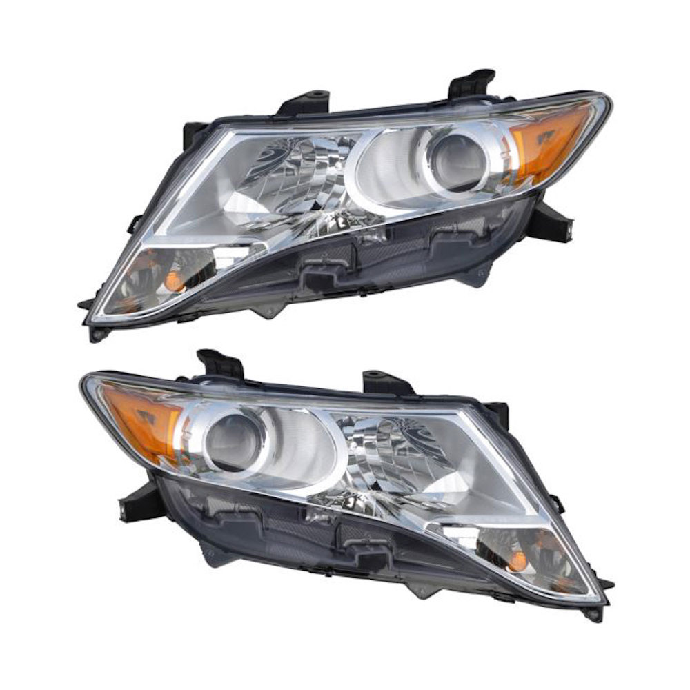 Toyota Venza                          Headlight Assembly PairHeadlight Assembly Pair