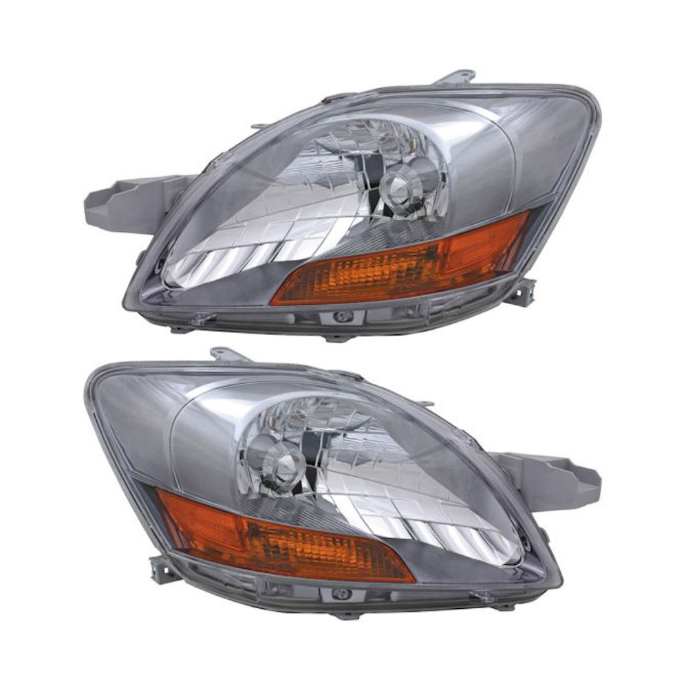 Toyota Yaris                          Headlight Assembly PairHeadlight Assembly Pair