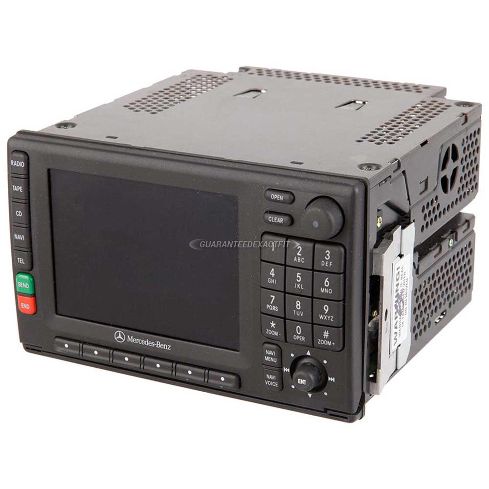 Mercedes_Benz ML320                          Navigation UnitNavigation Unit