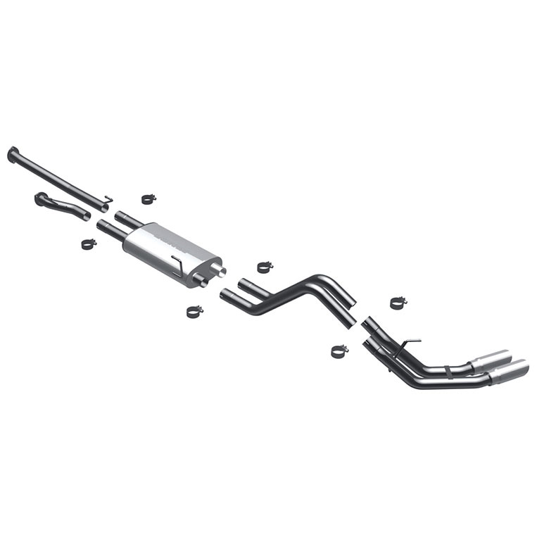 Toyota Tundra                         Cat Back Performance ExhaustCat Back Performance Exhaust