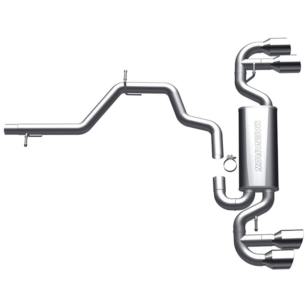 Audi TT                             Cat Back Performance ExhaustCat Back Performance Exhaust