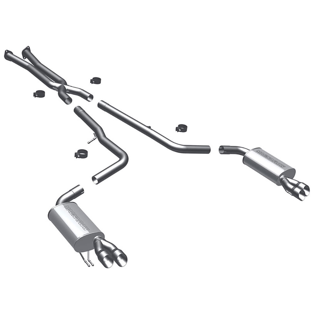 Hyundai Genesis                        Cat Back Performance ExhaustCat Back Performance Exhaust
