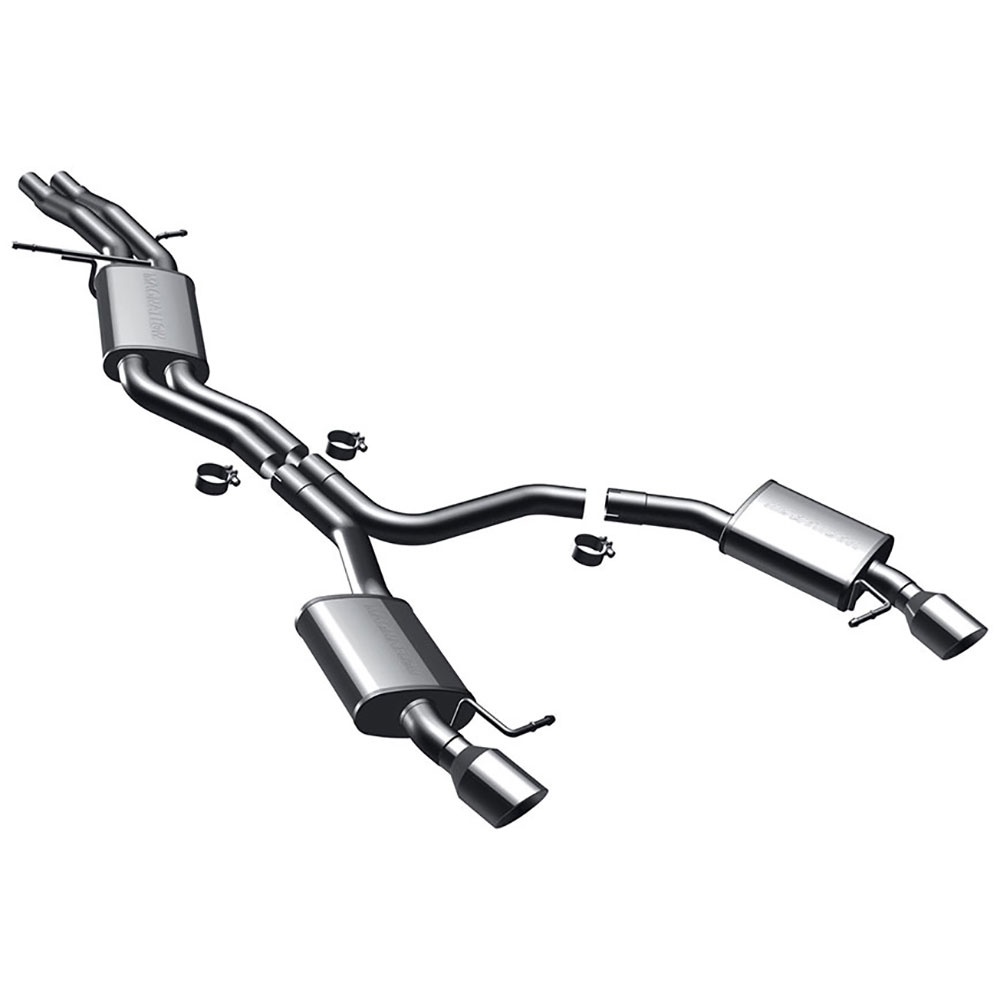 Audi A5                             Cat Back Performance ExhaustCat Back Performance Exhaust