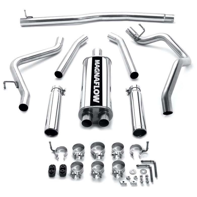Mitsubishi Raider                         Cat Back Performance ExhaustCat Back Performance Exhaust