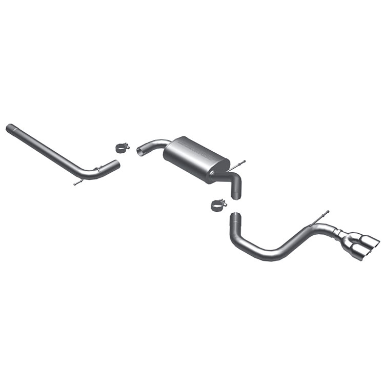 VW Rabbit                         Cat Back Performance ExhaustCat Back Performance Exhaust