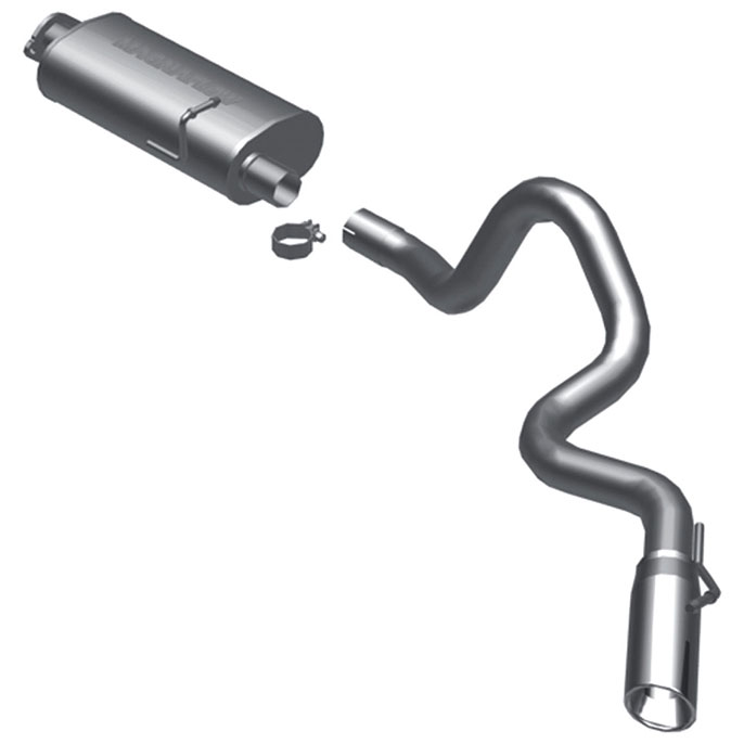 Land_Rover Defender                       Cat Back Performance ExhaustCat Back Performance Exhaust