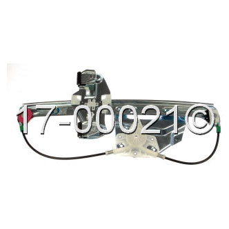 Cadillac Deville                        Window Regulator with MotorWindow Regulator with Motor