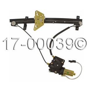Dodge Dakota                         Window Regulator with MotorWindow Regulator with Motor