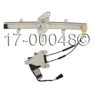 Buick Century                        Window Regulator with MotorWindow Regulator with Motor