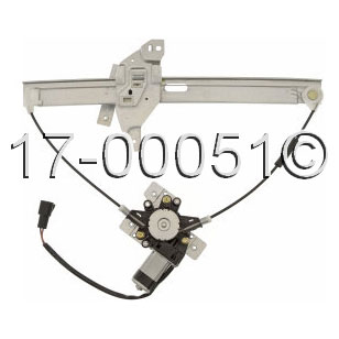Chevrolet Impala                         Window Regulator with MotorWindow Regulator with Motor