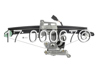 Volvo S60                            Window Regulator with MotorWindow Regulator with Motor