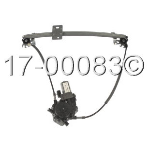 Volkswagen  Window Regulator with Motor