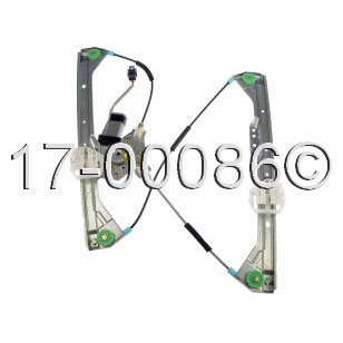 Buick Allure                         Window Regulator with Motor