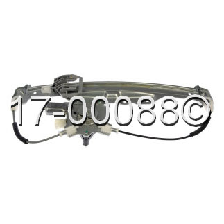 Buick Allure                         Window Regulator with MotorWindow Regulator with Motor