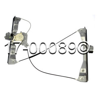 Pontiac G5                             Window Regulator with Motor