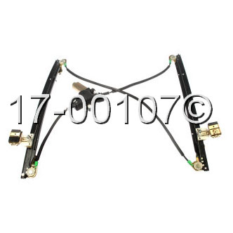 2006 chrysler town and country window regulator with motor. Black Bedroom Furniture Sets. Home Design Ideas