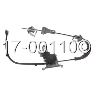 Jeep Comanche                       Window Regulator with MotorWindow Regulator with Motor
