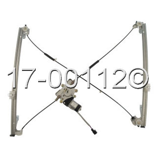 Chrysler Grand Voyager                  Window Regulator with Motor