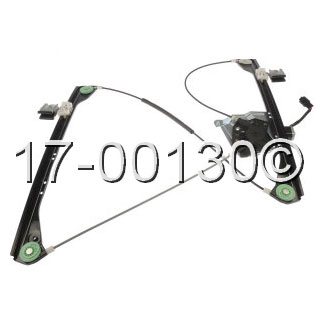 Pontiac Aztek                          Window Regulator with MotorWindow Regulator with Motor