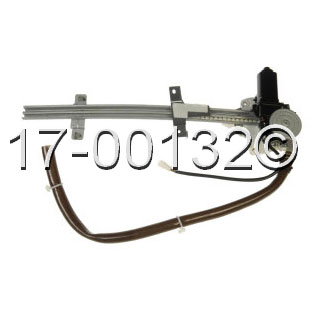 Mazda MPV                            Window Regulator with Motor