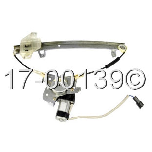 Hyundai window regulator with motor parts from car parts for 2000 hyundai elantra window regulator