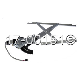 Buick Skylark                        Window Regulator with MotorWindow Regulator with Motor