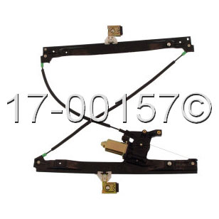 Saab 9-7X                           Window Regulator with MotorWindow Regulator with Motor