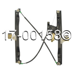 Buick Rainier                        Window Regulator with MotorWindow Regulator with Motor