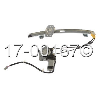 Acura CL                             Window Regulator with MotorWindow Regulator with Motor