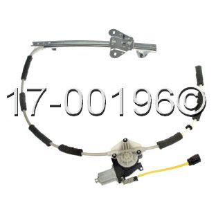 Jeep Cherokee                       Window Regulator with MotorWindow Regulator with Motor